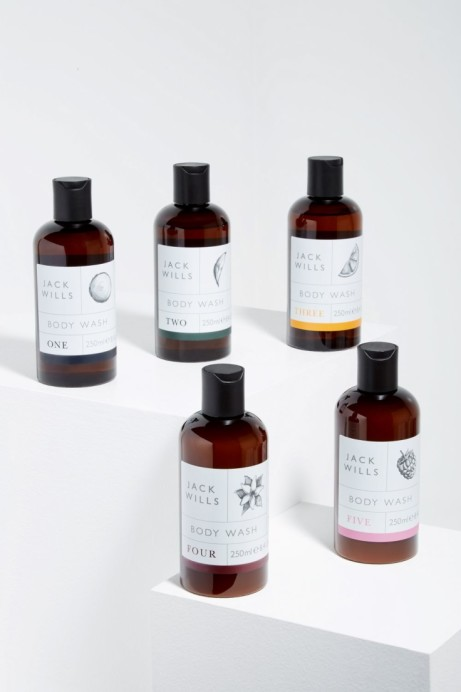 Jack Wills Beauty: FOUR - BODY WASH 250ML £7.95!