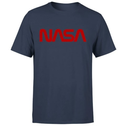2 For £25 Franchise T-Shirts - NASA WORM RED LOGOTYPE T-SHIRT £14.99!