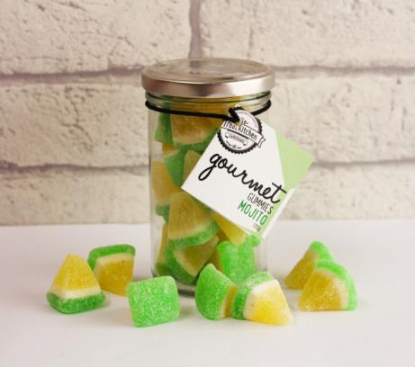 Mojito Gourmet Gummies bonta jar - £5.95!