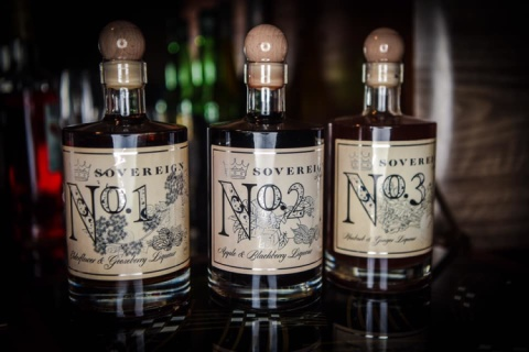 New to arrive to the shop are these lovely, locally made gin liqueurs from Sovereign.