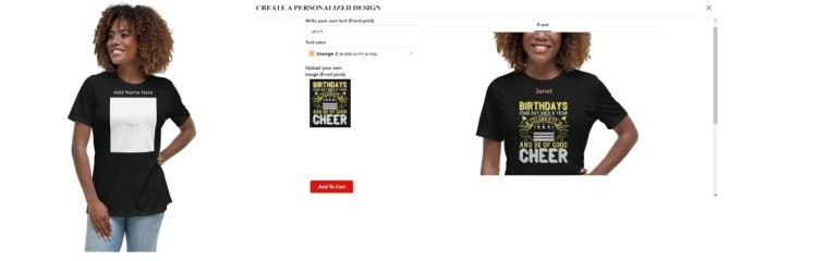 Personalized T-Shirt Services