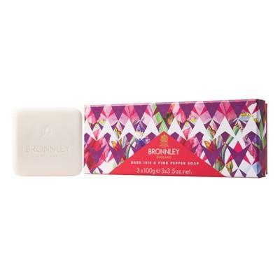 Dark Iris & Pink Pepper - Soap Collection
