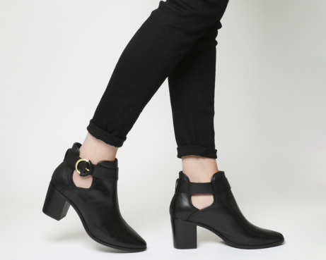 SAVE OVER £60 on these Ted Baker Sybell Strap Black Leather Boots!