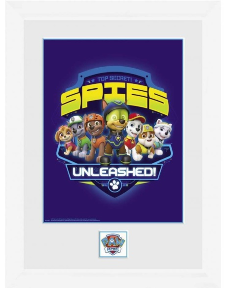 SAVE 30% OFF paw Patrol Spies Framed Collector Print!