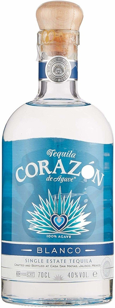 Corazon Blanco Single Estate Tequila 70CL - £30.50!