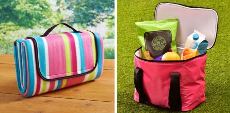 WIN - Picnic Blanket & Cooler Bag