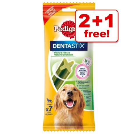 35% OFF Pedigree Dentastix Fresh + Buy 3 for the price of 2!