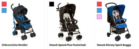 SAVE up to 40% OFF Pushchairs & strollers - perfect for adventures!