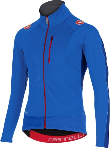 Castelli Transparente Windproof Long Sleeve Cycling Jersey With Full Zip - SAVE 52%!