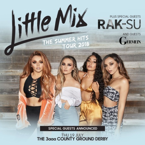 Little Mix Summer Hits Tour LIVE in Derby!