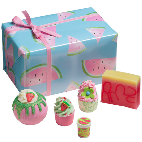SAVE 10% - Bomb Cosmetics: Thanks a Melon Gift Pack!