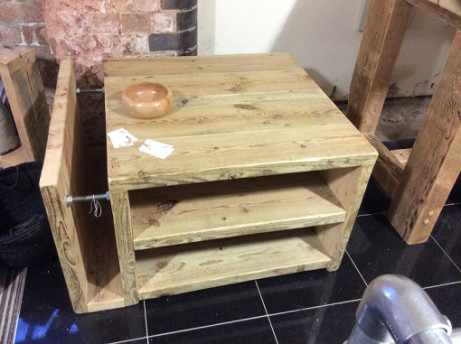 100% Handmade - The Cube Coffee Table £480.00!