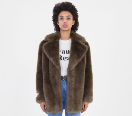 SAVE 50% on this Faux Fur Jacket by Jakke!