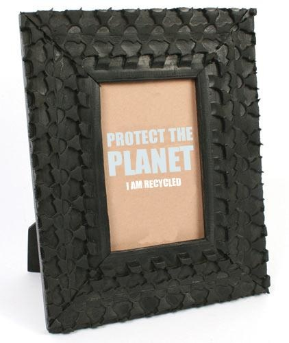 WIN Recycled Tyre Photo Frame