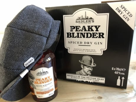 FREE Peaky Blinder Cap with every order of Peaky Blinder Whisky - ONLY £23.39!