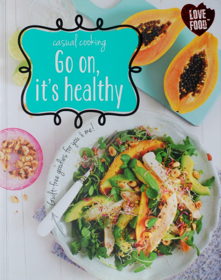 """WIN - """"Go on, It's Healthy"""" Book"""