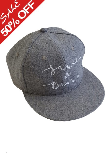 View our 50% OFF Sale - Grey Flat Peak now just £10.00!