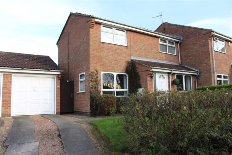 A three bedroomed semi-detached property in Whetstone