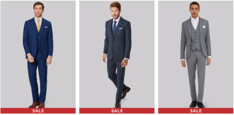 ONLY £59 for a FULL SUIT in the Moss Bros. SALE!