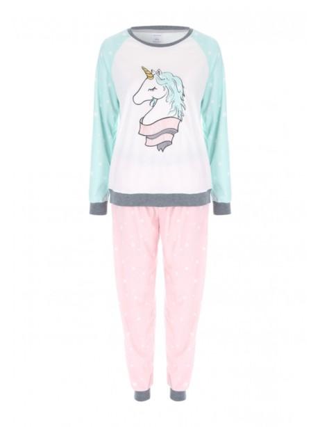 Womens Aqua Unicorn Twosie Was £18, Now Only £12