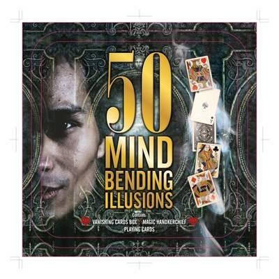 50 Mind Bending Illusions Tin - SAVE 73%!