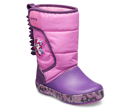NEW - Kids' Crocs Fun Lab Unicorn Lights Boot £54.99!