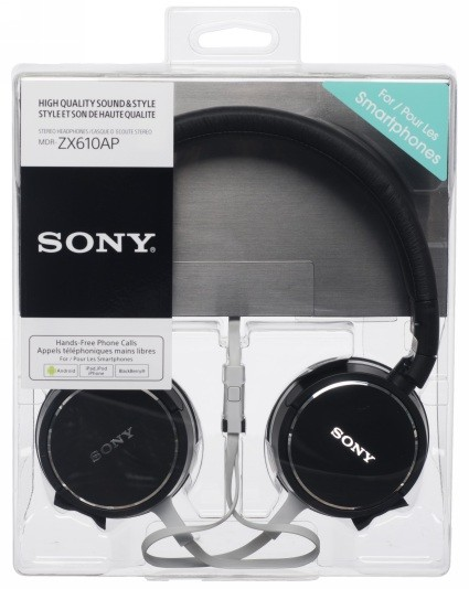Sony Black Headphones - NOW ONLY £32.99
