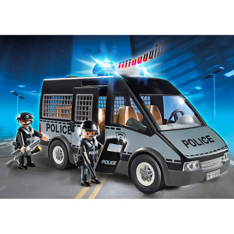 Playmobil Police Van with Lights and Sounds: Save £20.00!