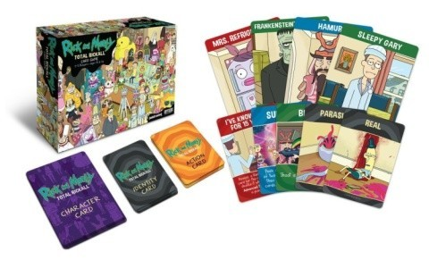 Rick and Morty Cooperative Card Game - £13.99!