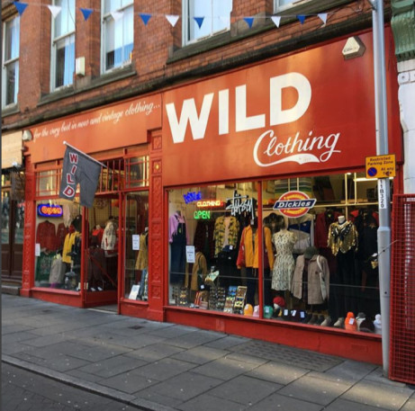 Wild Clothing....serving the good people of NOTTINGHAM for 34 years! Come and join the festive fun.