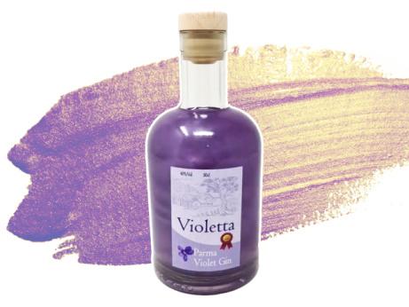 Wirral Distillery - Violetta Parma Violet Gin - ONLY £31.89!