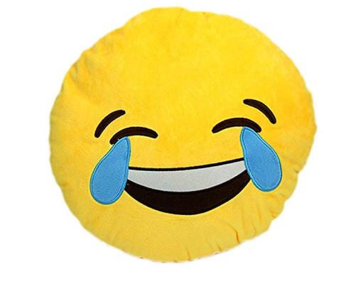 WIN - Smiley Emoji Cushion