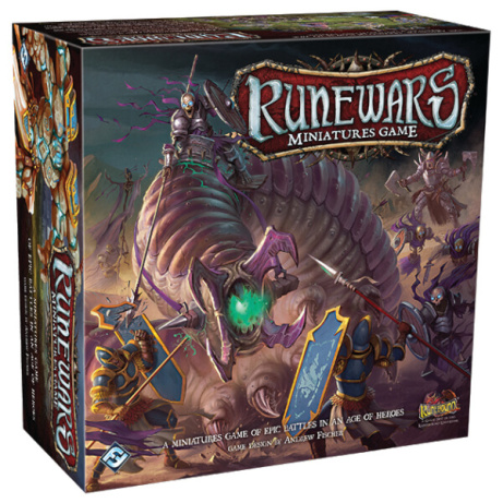 SAVE 40% OFF Runewars Miniatures Board Game Core Set!