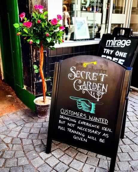 Join us in the Secret Garden!