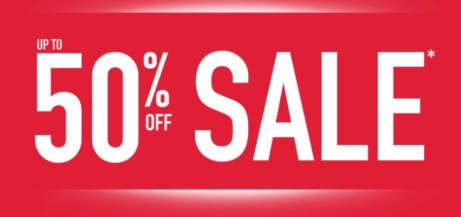 Up to 50% OFF in our Sale!
