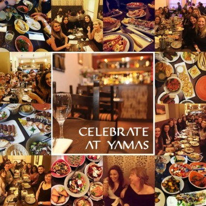 Yamas is the perfect spot to gather your nearest and dearest!