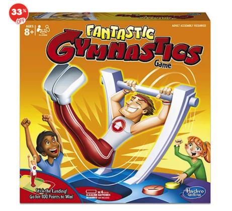 SAVE 33% OFF Fantastic Gymnastics Game!