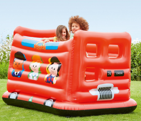 10% OFF this Happyland Bouncy Bus!
