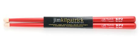 Awesome Jim Kilpatrick KP2 Snare Drum Sticks (red) £13.99!