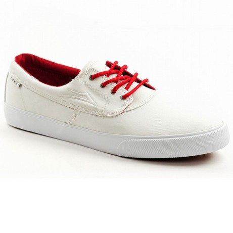 Save £25 on these Lakai Camby Anchor White PU Canvas