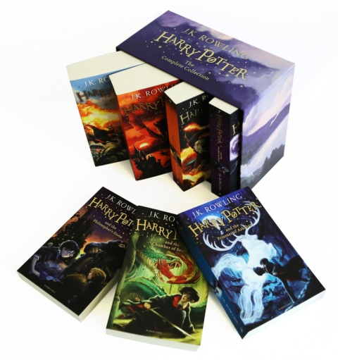 SAVE £33.00 - The Complete Harry Potter Collection (7 Book Box Set) BETTER than HALF PRICE!