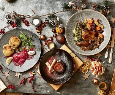 NEW Festive set menus for £19.95