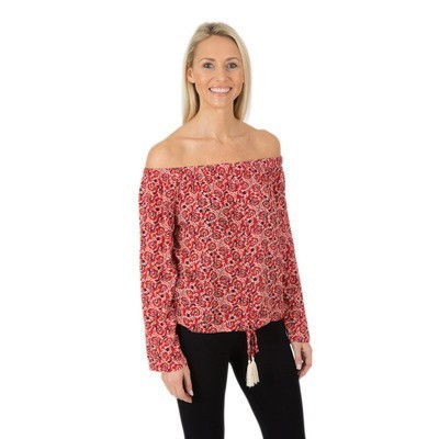MINKPINK WANDERLUST BLOUSE - MULTI   £31.50 was £45.00