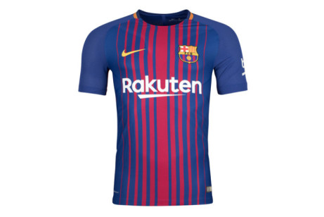 Save £10 on this 2017-2018 Barcelona Home Nike Supporters Tee (Kids)