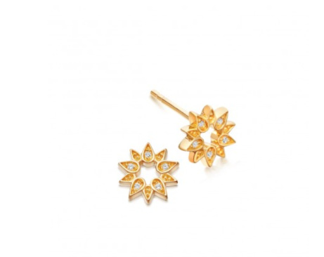 Shop  the Mini Sun Biography Stud Earrings: £70.00!