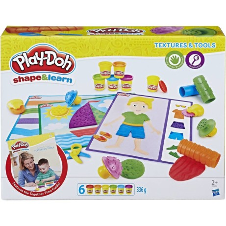 Play-Doh Shape and Learn Textures and Tools Set - SAVE 33%