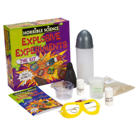 30% OFF - Horrible Science Explosive Experiments Craft Set!