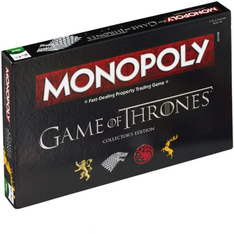 Monopoly - Game of Thrones Edition Was £29.99 Now £25.99