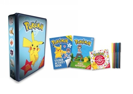£8 OFF this Pokemon Activity Tin!