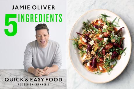 5 Ingredients - Quick & Easy Food (Hardback) by Jamie Oliver NOW 50% OFF!